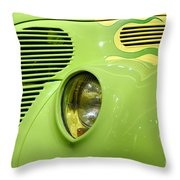 Hot Rod Ford Coupe 1938 Throw Pillow by Oleksiy Maksymenko