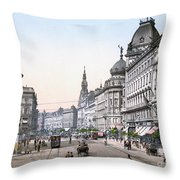 HUNGARY: BUDAPEST, c1895 Throw Pillow by Granger