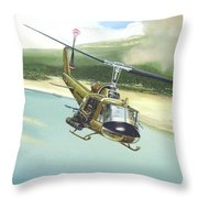 Hunter Hueys Throw Pillow by Marc Stewart
