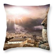 I Am Throw Pillow by Bill Stephens