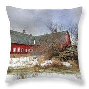 I Fall To Pieces Throw Pillow by Lori Deiter