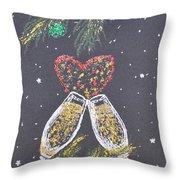 I Love You Throw Pillow by Georgeta  Blanaru