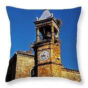 Iglesia De San Martin - Trujillo Throw Pillow by Juergen Weiss