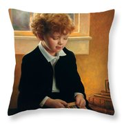 I'm Trying To Be Like Jesus Throw Pillow by Greg Olsen