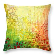 Immersed No 2 Throw Pillow by Jennifer Lommers