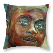 Impossible Throw Pillow by Xueling Zou