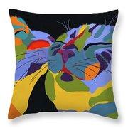 In Love Throw Pillow by Patti Siehien