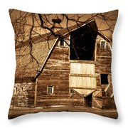 In Need Throw Pillow by Julie Hamilton