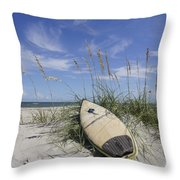 In The Dunes Throw Pillow by Benanne Stiens