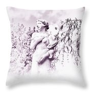 In The Mist Throw Pillow by Bill Cannon
