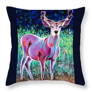 In The Velvet Throw Pillow by Bob Coonts