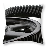 Industrial Concept Throw Pillow by Yali Shi
