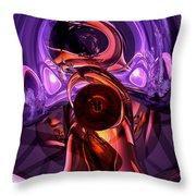 Inner Feelings Abstract Throw Pillow by Alexander Butler