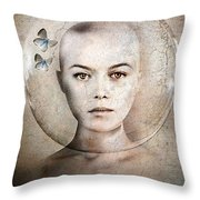 Inner World Throw Pillow by Photodream Art