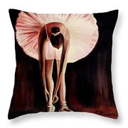Interlude Throw Pillow by Elizabeth Robinette Tyndall