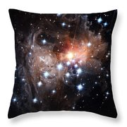 Intricate Structures In Interstellar Throw Pillow by ESA and nASA