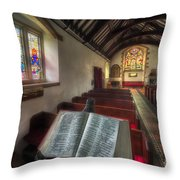 Isaiah 59 Throw Pillow by Adrian Evans