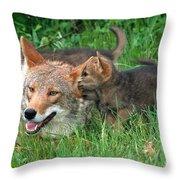 I've Got A Secret Throw Pillow by Sandra Bronstein
