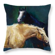 I've Got Your Back Throw Pillow by Frances Marino