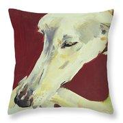 Jack Swan I Throw Pillow by Sally Muir