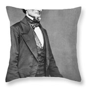 Jefferson Davis Throw Pillow by American Photographer