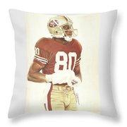 Jerry Throw Pillow by Darren  Chilton