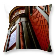 Jesse's Home Throw Pillow by Linda Knorr Shafer