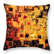 Jesus Christ The God Blessed Throw Pillow by Mark Lawrence