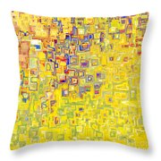 Jesus Christ The Holy Child Throw Pillow by Mark Lawrence