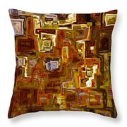 Jesus Christ The King of the Ages Throw Pillow by Mark Lawrence