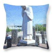 Jesus Wept 3 Throw Pillow by Betty LaRue