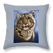 Jewel Throw Pillow by Barbara Keith