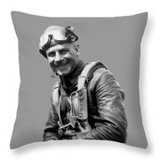 Jimmy Doolittle Throw Pillow by War Is Hell Store