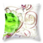 Jolly Rancher Throw Pillow by Molly McPherson
