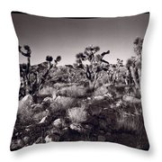 Joshua Tree Forest St George Utah Throw Pillow by Steve Gadomski