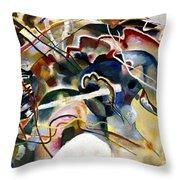 Kandinsky: White, 1913 Throw Pillow by Granger
