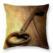 Key Throw Pillow by Bernard Jaubert