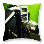 Keystone K50 Throw Pillow by Gabe Arroyo