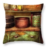 Kitchen - Food - The Cake Chest Throw Pillow by Mike Savad