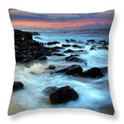 Koloa Dawn Throw Pillow by Mike  Dawson