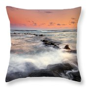 Koloa Dusk Throw Pillow by Mike  Dawson