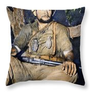 Korean War: G.i., 1950 Throw Pillow by Granger