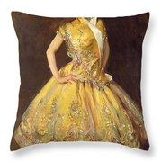 La Carmencita Throw Pillow by John Singer Sargent