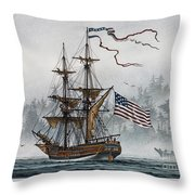 Lady Washington Throw Pillow by James Williamson