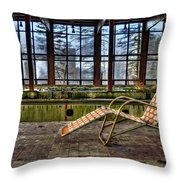 Last Resort Throw Pillow by Evelina Kremsdorf