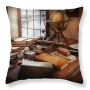 Lawyer - The Adventurer  Throw Pillow by Mike Savad