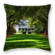 Legare Waring House Charleston Sc Throw Pillow by Susanne Van Hulst