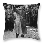 Leon Trotsky (1879-1940) Throw Pillow by Granger