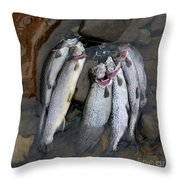 Limit Throw Pillow by Randy Bodkins