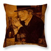Liverpool 1963. In The Pub Throw Pillow by Igor Postash